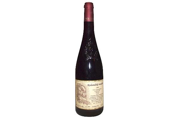 Vinja rodinné vinařství RULANDSKE MODRE